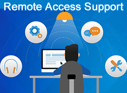 Remote Access Support Students