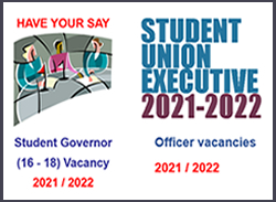 Student Union Executive Vacancies