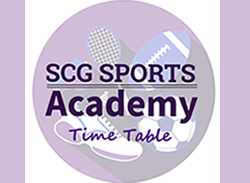 Sports Academy Timetable