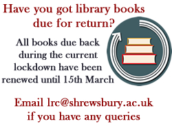 LRC Book Renewals Lockdown 2021