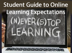 Student guide to online learning expectations